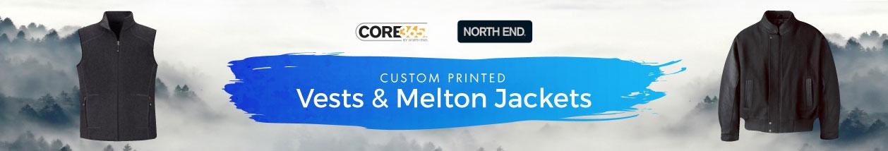 Vests & Melton Sports Jackets