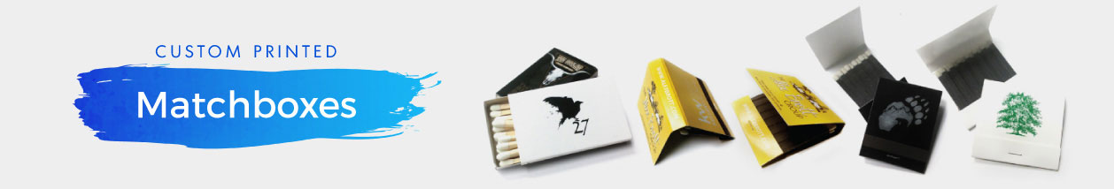 Matchboxes + Matchbooks