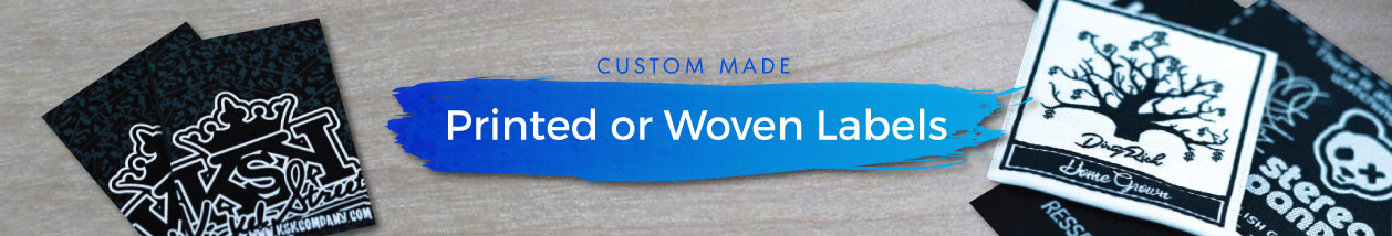 Custom Woven or Printed Labels