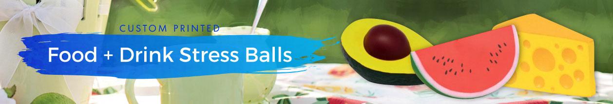 Food + Drink Stress Balls