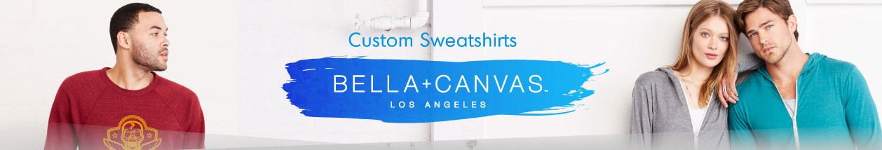 Bella+Canvas Hoodies