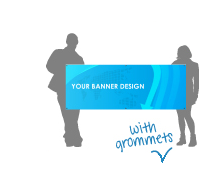 Banners with Grommets