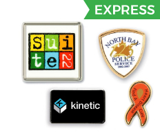 Express Lane Lapel Pins