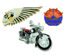 Hard Enamel Die Struck Lapel Pins