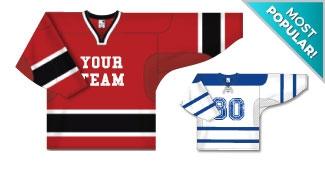 Pro Hockey Team Jerseys
