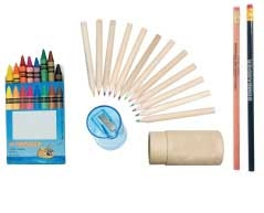 Pencils and Crayons