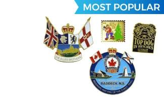 Custom Lapel Pins Toronto | Hard and Soft Enamel Pins in Canada