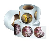 Round Sticker Rolls