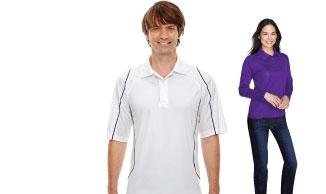 Snag-Protection Golf Shirts