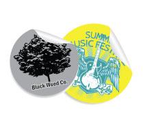 Round Glossy Stickers