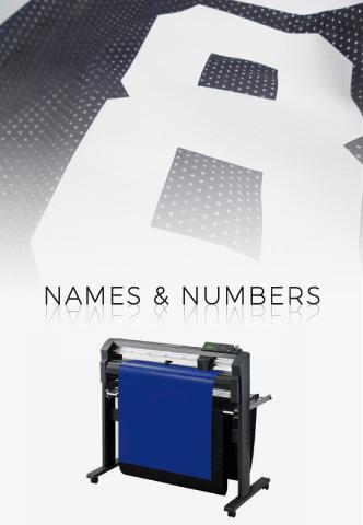 Custom Names and Numbers