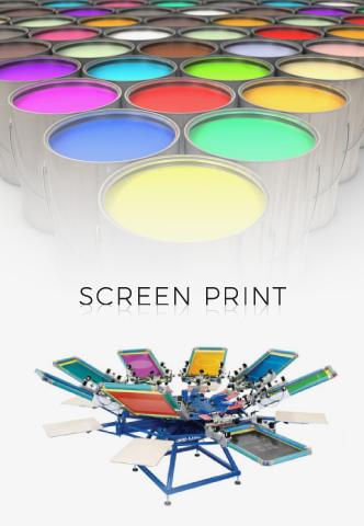 Screen Print Process