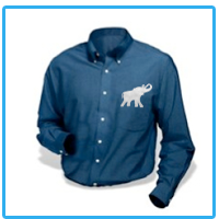 Custom Embroidered Dress Shirts