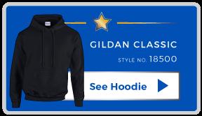 Top One Custom Gildan Hoodie