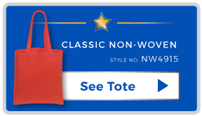 Top One Custom Non Woven Tote