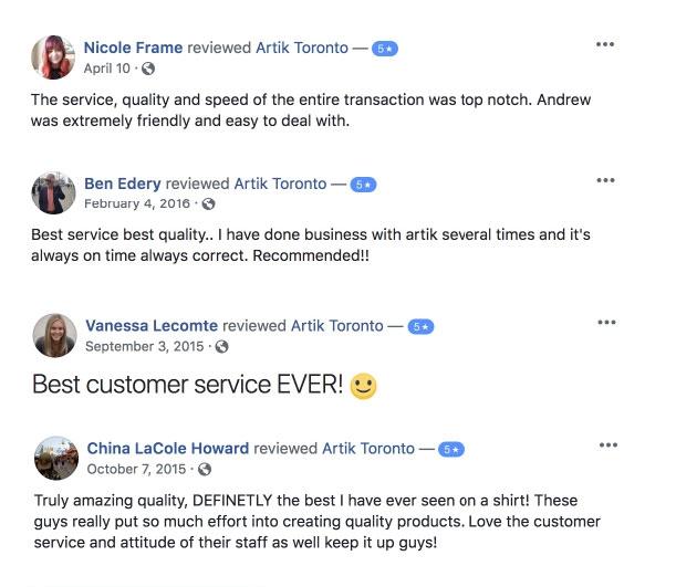 Read More Facebook Reviews