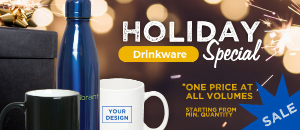 Contact Us on Special Drinkware Sale