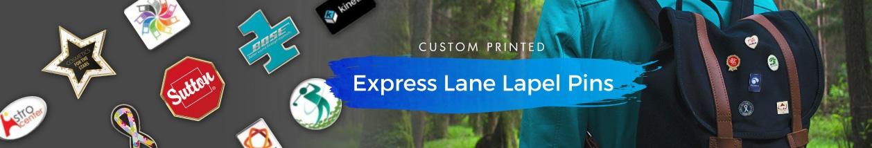 Express Lane Lapel Pins