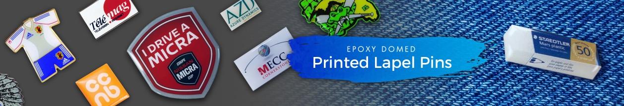 Printed Lapel Pins