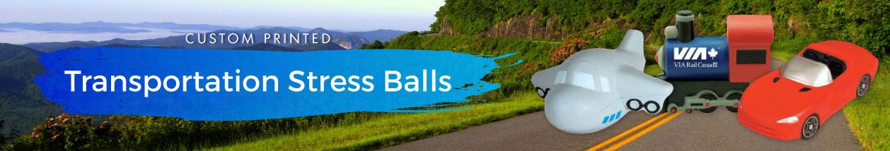Transportation Stress Balls