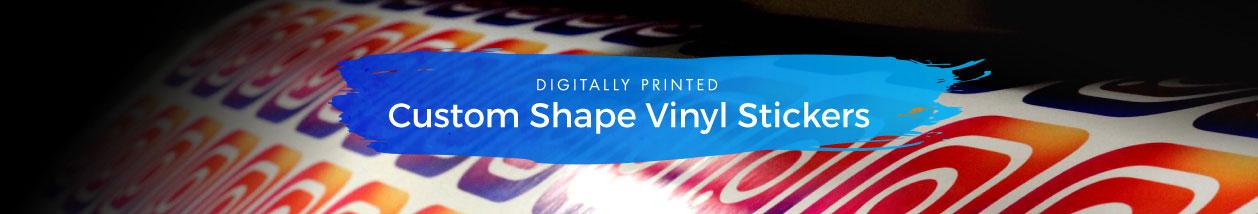 Custom Shape Vinyl Stickers