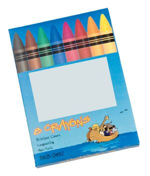 Non-Toxic Coloured Wax Crayon Set