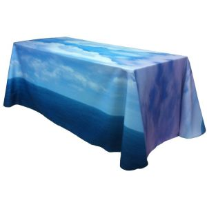 8' Fully Dye Sublimated Table Throw