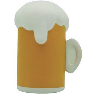 GK495 Beer Mug Stress Reliever Ball