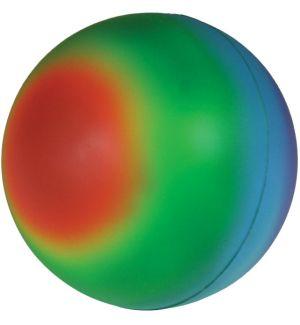 GK428 Rainbow Stress Reliever Ball