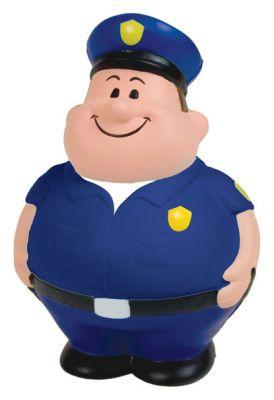 GK345 Policeman Stress Reliever Ball