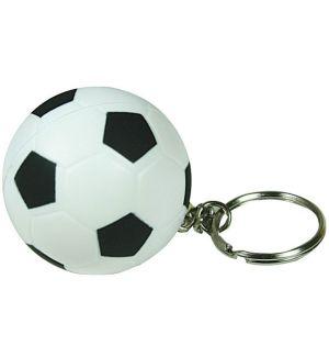 GK389 Soccer Ball Keyring Stress Reliever Ball