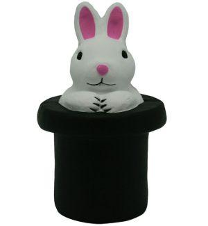 GK503 Rabbit in Hat Stress Reliever Ball