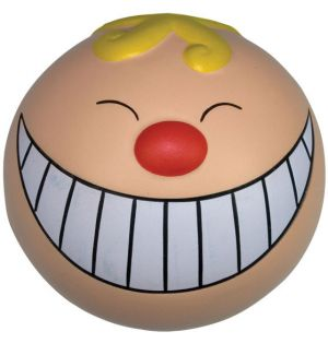 GK438 Funny Face with Smile Stress Reliever Ball