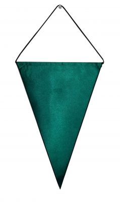 Satin Triangular Pennant (10.75