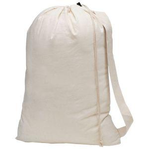 Cotton Canvas Laundry Bag