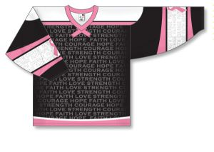 Hockey Pro Style: Breast Cancer Awareness BCA773