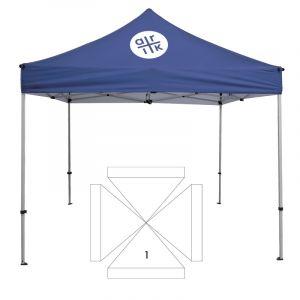 10' Square Tent - 1 Imprint Location