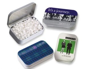 Rectangular Tin with Mints