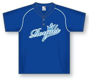 Two-Button Dryflex Pullover Baseball Jersey