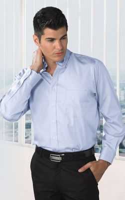 Van Heusen Men's Wrinkle Free Long Sleeves Shirt
