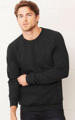 Bella Unisex Sponge Fleece Mock Neck Sweatshirt