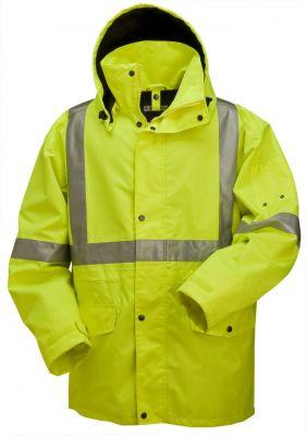 High Visibility 3/4 Length Rain Jacket