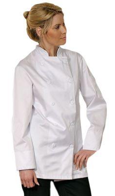 Econo White Chef Coat
