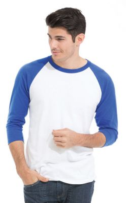 Adult 3/4 Sleeve Baseball T-Shirt