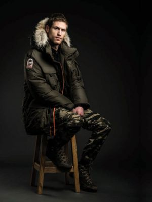 ATKA - Men's Mid-Length Parka with Fur