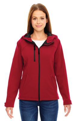 North End - Ladies' Soft Shell Jacket with Hood