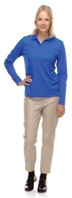 Pinnacle Core365 Ladies' Performance Long Sleeve Pique Polo
