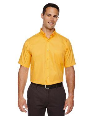 Core 365 Men's Optimum Short-Sleeve Twill Shirt