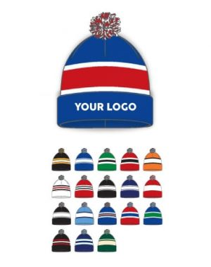 Knitted Team Hockey Toques