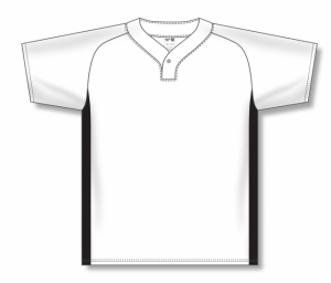 One Button Dryflex Baseball Jerseys with Full Side Inserts
